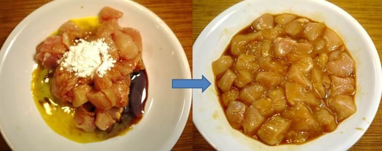 Kung-Pao chicken, Kao Pao Chicken marinate